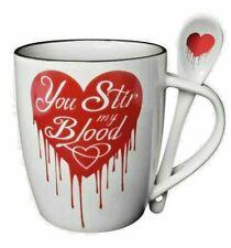 Sie rühren mein Blut Becher und Löffel Set