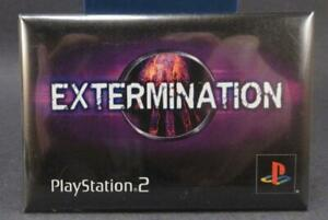 Sony PlayStation Extermination Promo Button! 2001 PlayStation 2