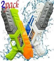 "2 P2 Pk 13"" Water Gun Super Soaker Kids Summer Squirt Blaster Swimming Pool Toys"