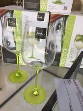 Eisch Hugo Glas Secco Flavoured grün - 2 Stück im Geschenkkarton