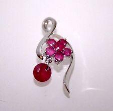 Ruby Treated Stone Fashion Jewelry
