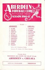 Football Pre-Season Fixture Programmes (1970s)