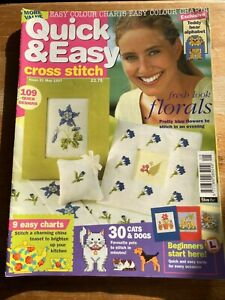 QUICK AND EASY CROSS STITCH MAGAZINE ISSUE 21 MAY 1997
