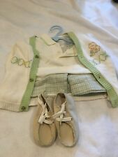 12 Months Baby Grande Boy 3pc Cardigan Sweater Polo outfit with shoes pants