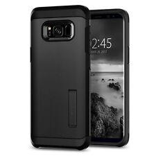 Spigen Samsung Galaxy S8 Tough Armor Shockproof TPU Kickstand Case Cover Black