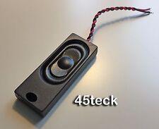 Bass Reflex Speaker 4 Ohm 1.5W 58x22x10mm suits Zimo/ESU Loksound DCC