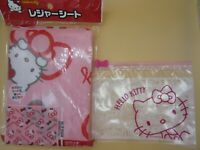 DAISO Hello Kitty Picnic Sheet pink Japan Sanrio Bonus Cute kawaii f/s tracking