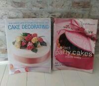 Cake Decorating Books Bundle By Carol Deacon