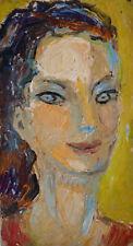 Charles KIFFER (1902-1992) HsP Portrait années 40 / 50 Fauvisme Fauviste Fauvism