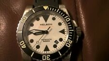 Helson shark diver full lume dial 40mm watch