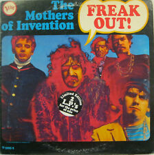 """THE MOTHERS OF INVENTION (FRANK ZAPPA) """"FREAK OUT!""""  lp USA mono hot spot"""