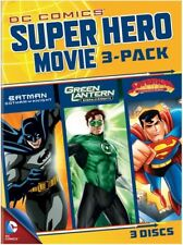 DC Superheroes Movies 3-Pack [New DVD] Full Frame, Slipsleeve Packaging, 3 Pac