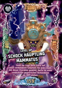 82 - Level Up Schock Häuptling Mammatus LEGO Ninjago Trading Card Serie 6 NEXT L