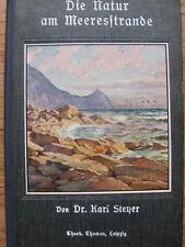 Karl Steyer-altes Buch über Flora-Fauna am Strand-Meer