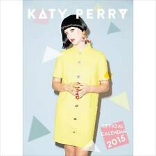 2015 UK OFFICIAL LARGE WALL CALENDAR OF KATY PERRY