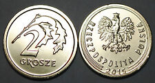2015 Poland 2 Grosze Coin BU Very Nice KM # 924