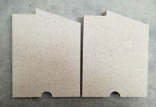 FIREFOX 5 CLEANBURN MK1 VERMICULITE SIDE FIRE BRICK SET