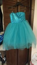 Turquoise Windsor Homecoming Dress
