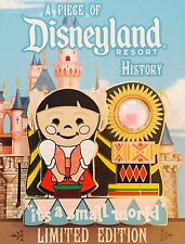 DISNEYLAND PIN DLR 2015 PIECE OF HISTORY PIN IT'S A SMALL WORLD-MEXICO LE 2000
