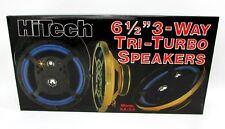 """Hi Tech 6.5"""" 6-1/2"""" Speakers Car Stereo XA-24 NEW In Box 1989 Vintage Old School"""