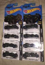 Hot Wheels Batman Batmobile Arkham Knight Green 88/365 4/5 Lot