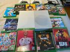 Microsoft Xbox One 500gb white console + 12 games (Cost £500+) + 2 controllers