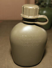 Water Canteen 1 litre 1 qt Genuine Military Surplus. Ex army.  X 1