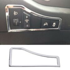ABS Chrome Inner Head Light Lamp Switch Cover Trim For Kia Sportage R 2011-2015