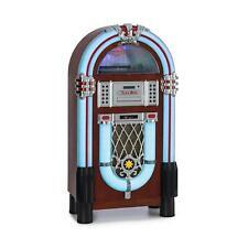 Jukebox Bluetooth Phono lecteur vinyle 3 vitesses CD USB SD MP3 AUX FM Rétro