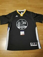 Kevin Durant Signed Autographed Golden State Warriors Slate Jersey PSA DNA COA