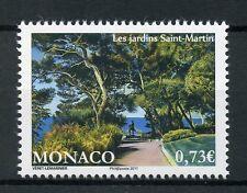 Monaco 2017 MNH Saint-Martin's Gardens 1v Set Plants Trees Stamps