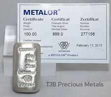 Metalor Bullions & Bars