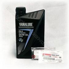 YAMALUBE SAE90 GL4 | Getriebeöl + Dichtungen | 1L Flasche | Außenbordmotor