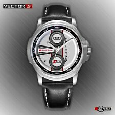 Orologio da polso Audi Sport ULTRA RS White edition stainless watch leather S TT
