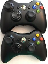 XBOX 360 �� 2 OEM OFFICIAL GENUINE WIRELESS GAMEPAD CONTROLLER'S��EXCELLENT ����
