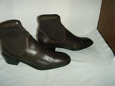 DENISE Leather Fashion  Boots Size 10 M Women's Made in Spaim