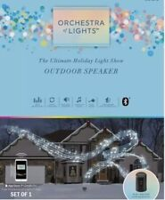 "Gemmy ""Orchestra of Lights"" Holiday Light Show Outdoor Speaker Christmas Wedding"