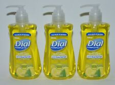 LOT OF 3 DIAL COMPLETE LEMON & SAGE LIQUID HAND SOAP WASH ANTIBACTERIA 7.5OZ