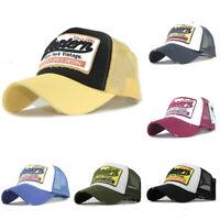 Baseball Cap Hip Hop Caps Casual Embroidery Mesh Hats Flexfit Trucker Snapback