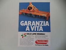 advertising Pubblicità 1985 FRESE MASCHIO