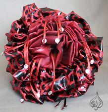 LARGE FLOWER HAIR CLIPS | KHALEEJI HAIR CLIP | 20CM / 8 INCH WIDE | Cheetah 002