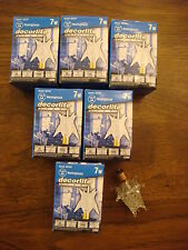 STAR BULBS 7 WATT LIGHT BULBS FOR  SPUTNIK STARBURST LAMPS FIXTURES WESTINGHOUSE