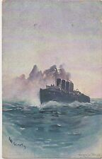 POSTCARD SHIPS  The Scout     Wright