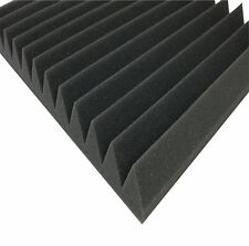 4m² Akustik Dämmung Schallabsorber mit Dreieck Profil