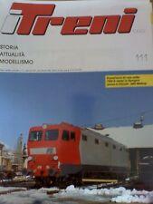 I Treni 111 1991 Linea Porrettana - Prove 685 Metrop