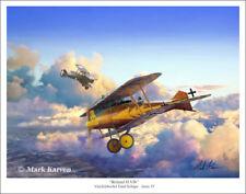 """Roland D.VI WWI Aviation Art Print - 11"""" x 14"""""""