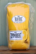New Pro Main Event Fight Gear 14oz Yellow Mma Boxing Martial Arts Gloves