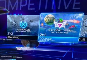 Rocket League SuperSonic Legend Account Has full access with rewards (epicgames)
