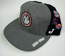 Negro League Baseball Museum Size 7 1/4 Men's Fitted Cap Team Logos Hat NEW