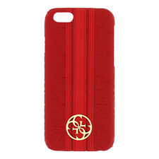 GUESS Héritage Collection étui rigide en rouge pour Apple iPhone 6 & 6S